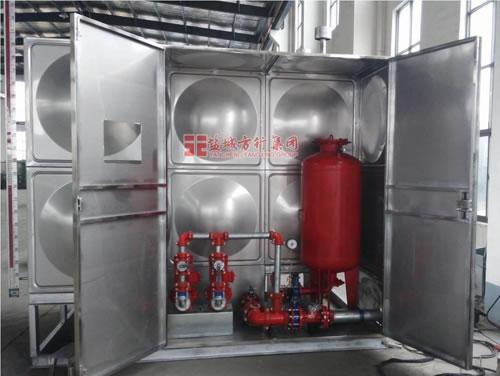 箱泵一体化消防增压稳压给水设备