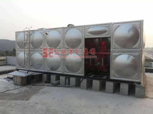 箱泵一体化消防泵站